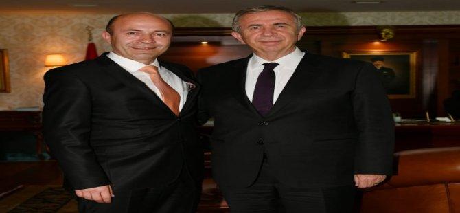 Başkan Çakır, Başkan Mansur Yavaş ile görüştü