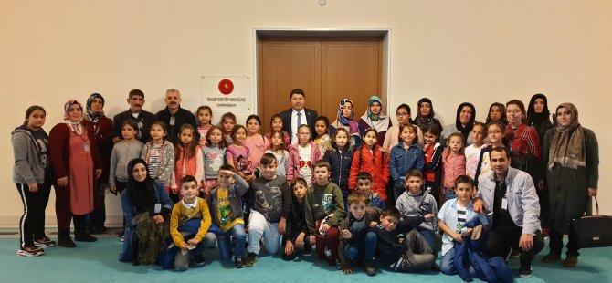 Milletvekili Tunç, Geriş İlkokulu öğrencilerini TBMM'de misafir etti