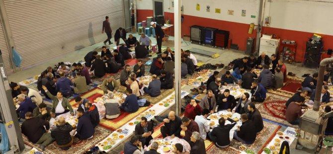Parıldar Oto'dan Bartınlı esnaflara iftar