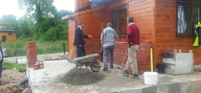 Başkan Yardımcısı Kömeç, incelemelerde bulundu