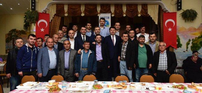 Milletvekili Tunç, İstanbul'da yaşayan hemşehrileriyle dernek iftarlarında buluştu