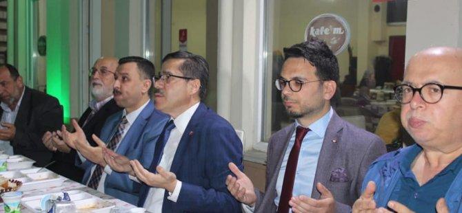 Saadet Partisi tarafından iftar programı gerçekleştirildi
