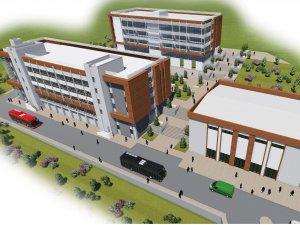 İşte yeni Endüstri Meslek Lisesi Binası