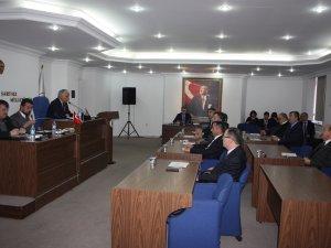 İl Genel Meclisi'nde Şubat mesaisi başladı