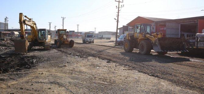 TOKİ Köprüsü'nün bağlantı yollarında çalışmalar devam ediyor