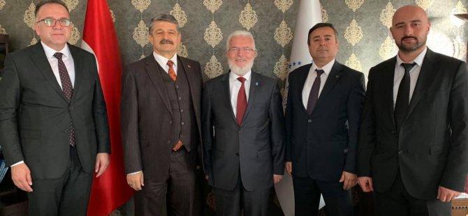 Başkan Akın, Ankara'da ziyaretlerde bulundu