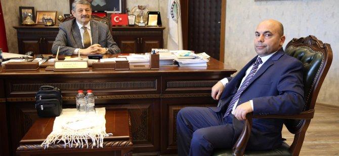 Emiroğlu'ndan Başkan Akın'a ziyaret