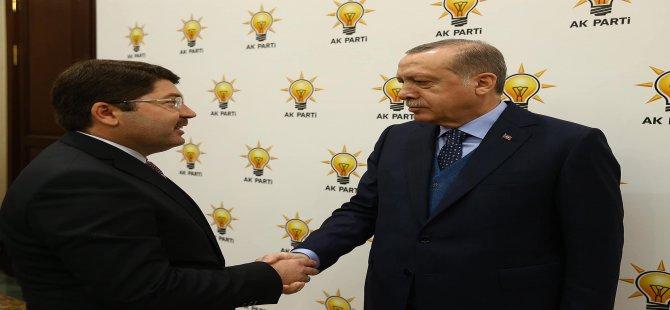 Milletvekili Tunç, Cumhurbaşkanı Erdoğan ile görüştü