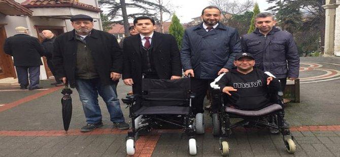 Erbakan, tekerlekli sandalye sözünü tuttu