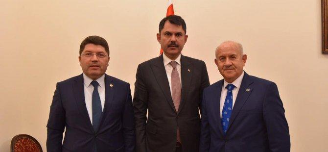 Milletvekili Tunç, Bakan Kurum ile görüştü