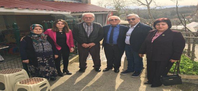 CHP Milletvekili Bankoğlu, şehit ailelerini ziyaret etti