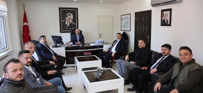 Başkan Akın, Amasra'da ziyaretlerde bulundu