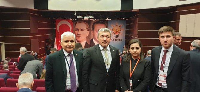 Bartın heyeti Ankara'daki toplantıya katıldı