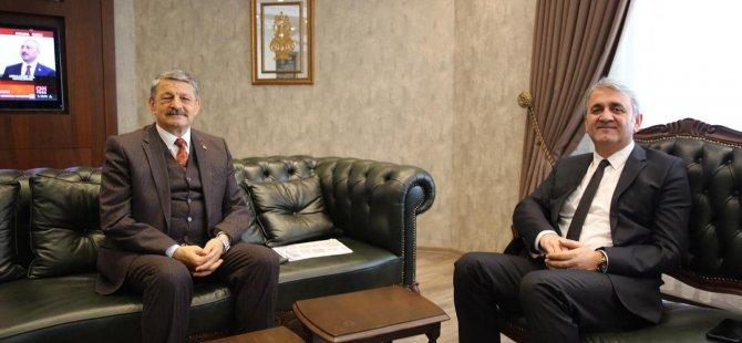 İl Emniyet Müdürü Çetin Bozkuş'dan ziyaret
