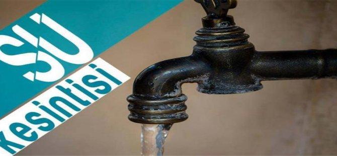 Borçtan dolayı yapılan su kesintileri iptal edilecek