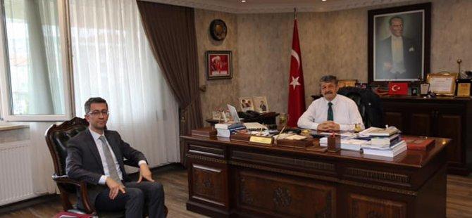 BAKKA Genel Sekreteri Oflaz'dan Ziyaret