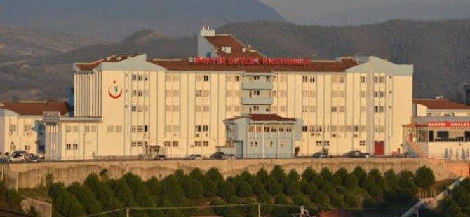 Devlet Hastanesi pandemi hastanesine dönüştürüldü