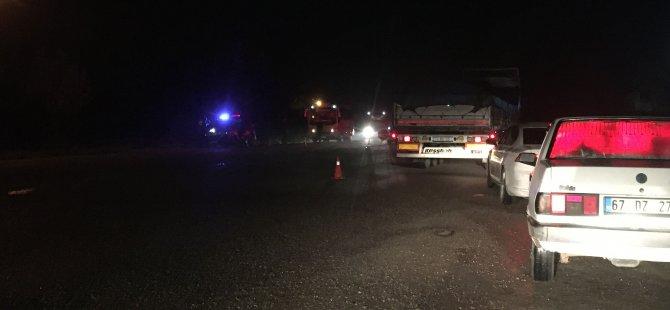 Zonguldak'a giden bağlantı yolları büz ve toprakla kapatıldı