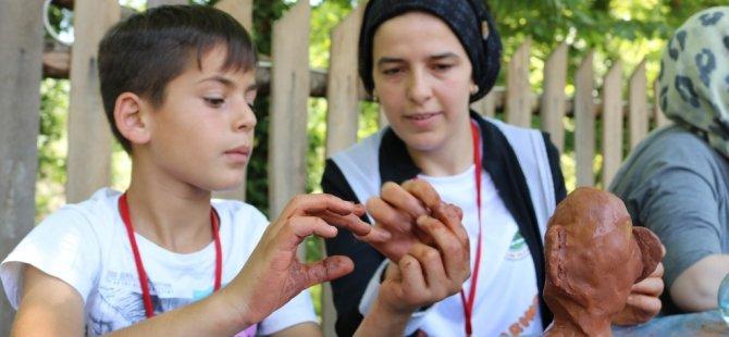 Çocuklar bilim ve sanatla buluşturulacak