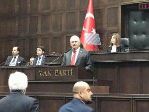 Yıldırım, AK Parti grubunu topladı