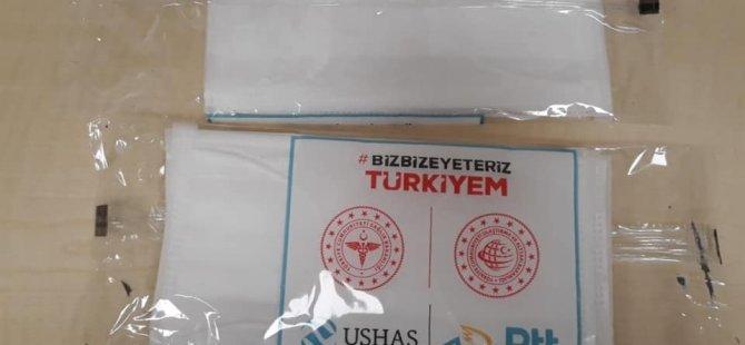 577 bin ücretsiz maske dağıtılıyor