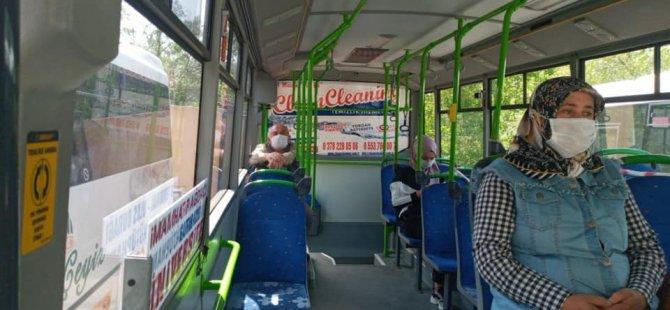 Zabıta ekipleri bu defa halk otobüslerini denetledi