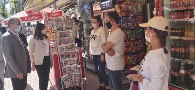 Milletvekili Bankoğlu'ndan Amasra'da esnaf ziyareti