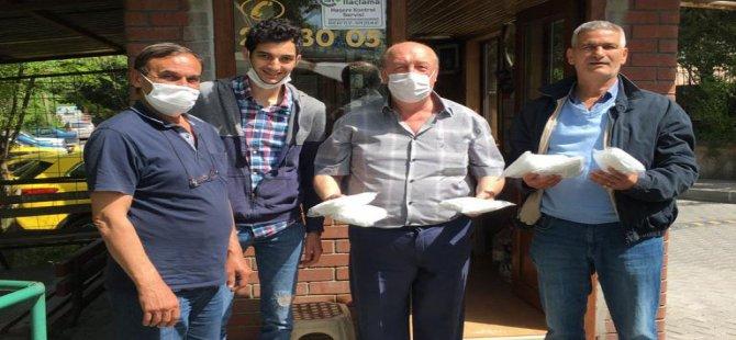 Esnaf Odası 5 bin maske dağıttı