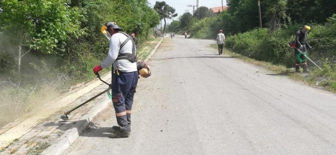 Temizlik işleri ekipleri bu defa Ağdacı Mahallesi'ndeydi