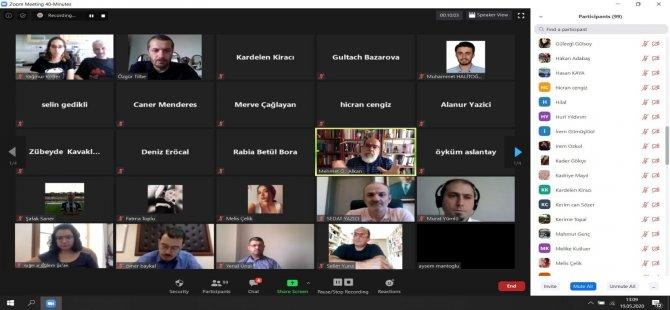 """Video konferansta """"Milli Mücadele'nin ilk adımı"""" anlatıldı"""