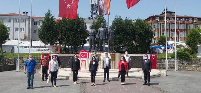 CHP, 19 Mayıs'ı Alternatif Törenle kutladı