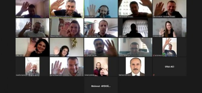 20 üniversiteden temsilciler video seminerde bir araya geldi