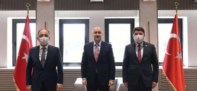 Vali Güner'den Bakan Karaismailoğlu'na teşekkür ziyareti