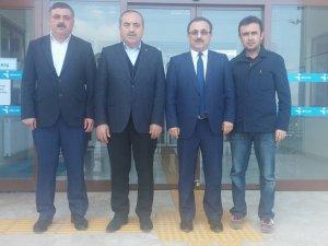 Başkan Uzun, Erdim'i ziyaret etti