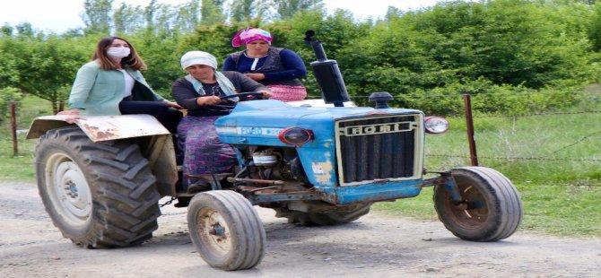 Bankoğlu, çiftçilerin sorunlarını yerinde inceledi