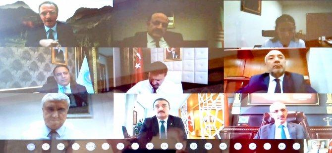 Rektörler YÖK Başkanı Saraç'ın başkanlığında toplandı