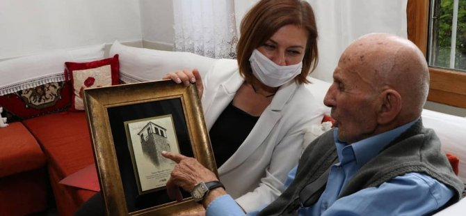 45 yıl önce Koruma Kararı'nı imzalayan belediye başkanına ziyaret