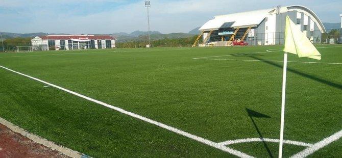 Ömertepesi futbol sahasındaki çalışmalar 859.000 TL'ye mal oldu