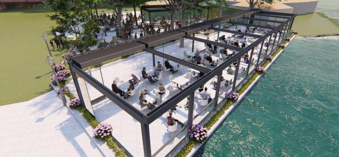 'Halk Kafe' yaz, kış hizmet verecek