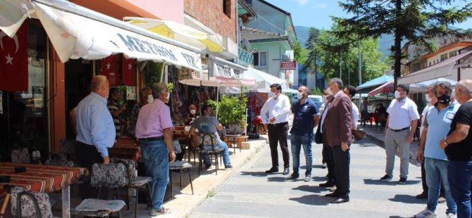 Başkan Akın, Hasankadı ve Kumluca'yı ziyaret etti