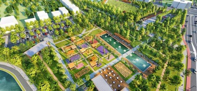 Bartın Millet Bahçesi 2023 yılına kadar tamamlanacak
