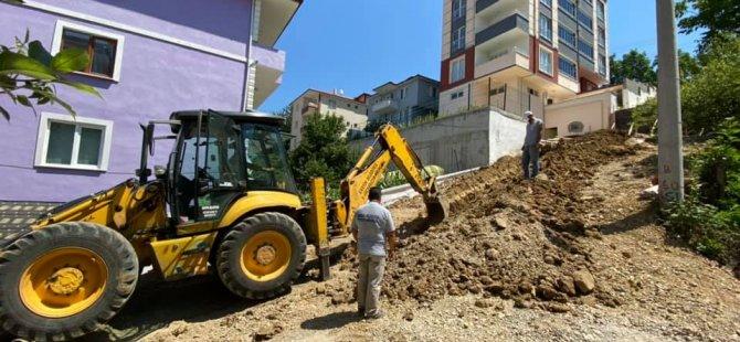 Yeni binalara altyapı desteği