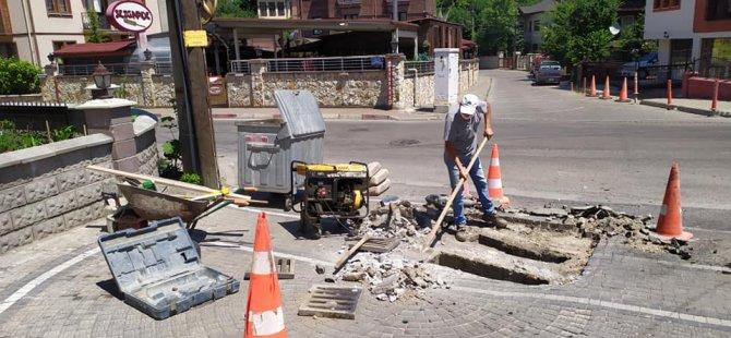 169. sokakta altyapı tedbirleri alındı