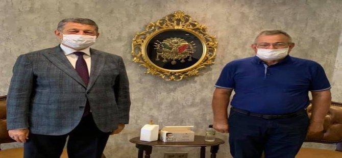 Çaycuma Önceki Dönem Belediye Başkanı'ndan Ziyaret