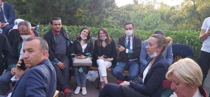 Bartın Baro Başkanı Ankara'da nöbette