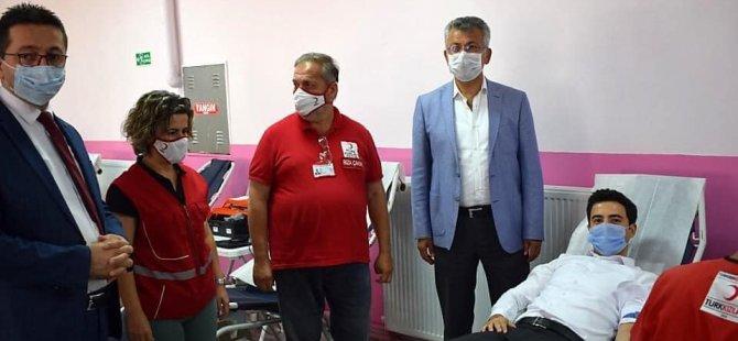 10 yıl aradan sonra Kurucaşile'de ilk kez kan bağışı kampanyası düzenlendi