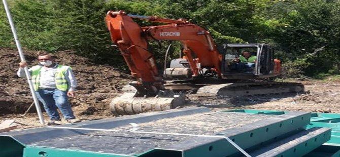 Ulus Atıksu Arıtma Tesisi inşaatı başladı