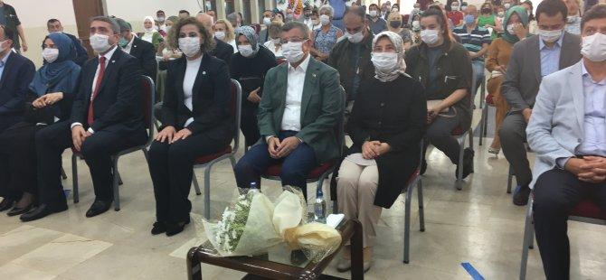 Eski Başbakan Davutoğlu Bartın'da