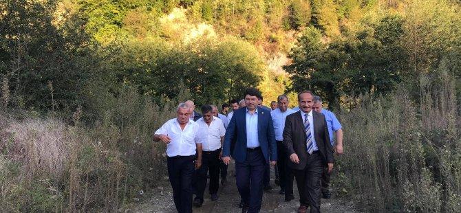 Milletvekili Tunç, barajdan etkilenen yerleşim yerleri için müjdeyi verdi