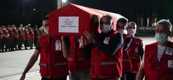 """""""Tüm Kızılay Camiasına Başsağlığı Diliyorum"""""""